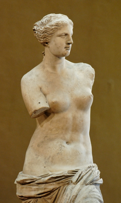 Armless Aphrodite. This time the thief got greedy.