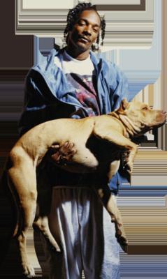 Snoop Dogg and dog